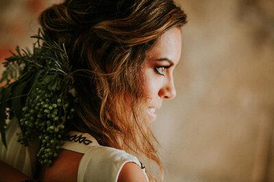 El look must de una novia alternativa: Frida Enamorada te da los mejores tips