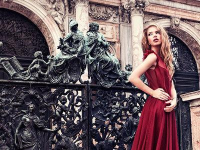 5 robes de mariée avec des touches de rouge... Osez la sensualité en 2016!