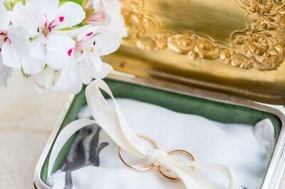 O abêcê das alianças de casamento: tudo o que precisam de saber!