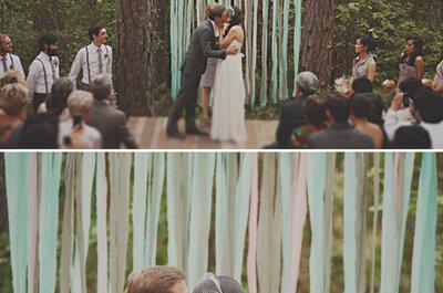 Autels originaux pour la cérémonie de mariage
