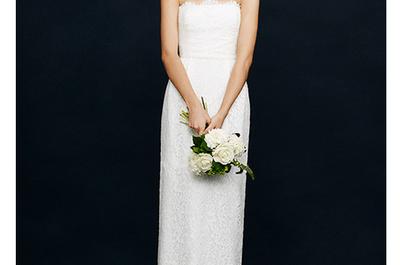 Vestidos de novia de JCrew para una chica sencilla y soñadora