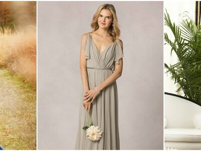 Our Favorite Bridesmaids Designs from Bridal Designers 2016