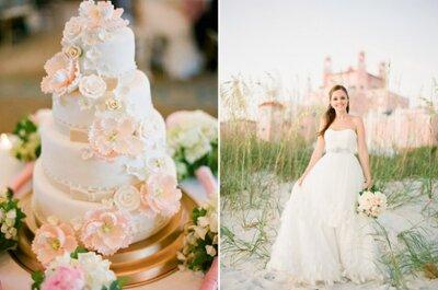 Decora tu matrimonio de rosado… ¡Atrévete a la fantasía!