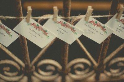 Décoration de mariage en papier