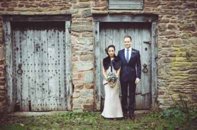 Real Wedding: Rebecca and David's Glam Country Wedding