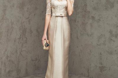 Cómo escoger el vestido de fiesta indicado para una boda en invierno