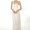 Vestido de novia 2013 largo y con escote asimétrico