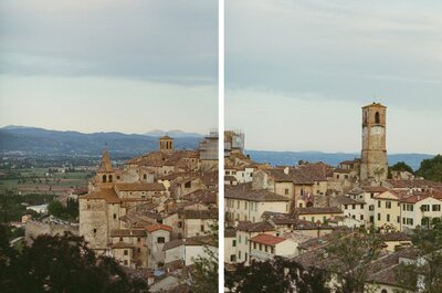 Stunning Tuscan Wedding: Caitlin + Will´s Wedding in Italy