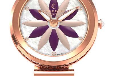 Primavera a flor de piel: 9 relojes únicos para cada tipo de novia