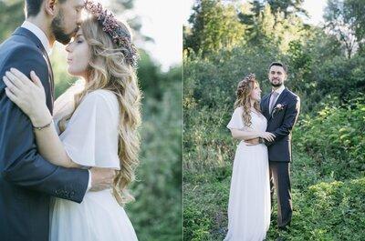 Романтичная свадьба Лизы и Артура