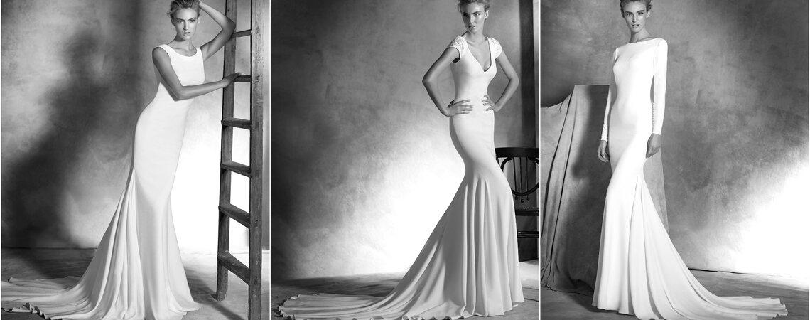 Brautkleider von Pronovias 2016 – Bezaubernd, extravagant, schlichtweg Ihr Traum in Weiß!