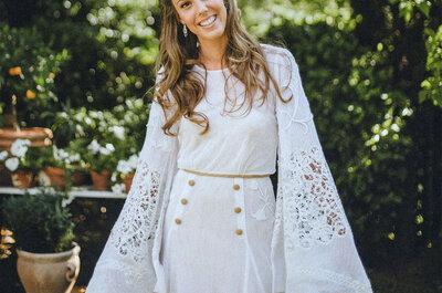 9 detalles de tu vestido de novia que te harán sonreír