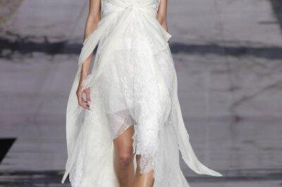 Sehen Sie hier schlichte Brautkleider für den Sommer 2015 mit WOW-Effekt!