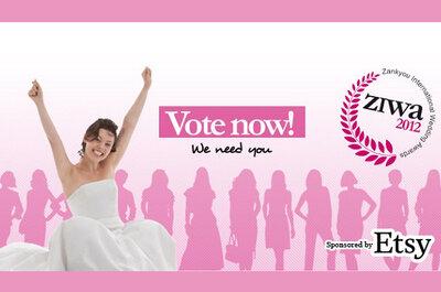 Zankyou International Wedding Awards 2012 último dia de votação, patrocínio Etsy