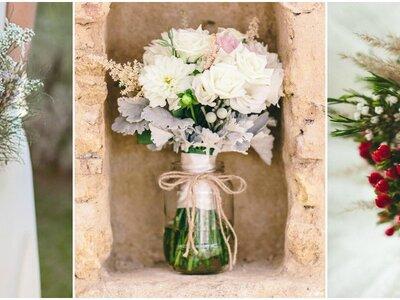 Descubre los 5 estilos de ramos de novia 2017 que no debes dejar escapar