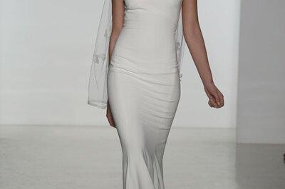 Sueño en organza: Vestidos de novia primavera 2015 de Amsale
