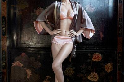 Lingerie para noivas: um toque oriental by La Perla