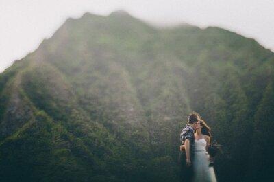 ¡Escápate y cásate en una isla o en medio de la naturaleza!