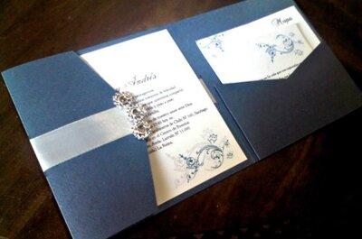 Partes de matrimonio con detalles elegantes