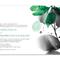 Invitación de boda con hojas en color verde esmeralda y detalles en gris y negro