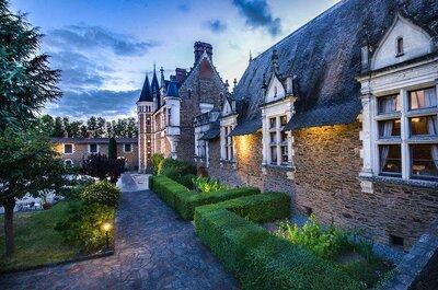 Les salles de mariage des Pays de la Loire les plus en vogue !