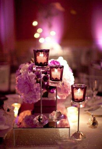 Illuminating inspiration for a candle lit wedding