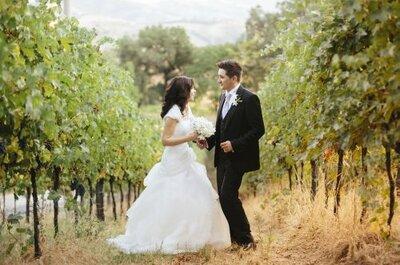 Il matrimonio di Chiara e Marcello, un omaggio al colore blu