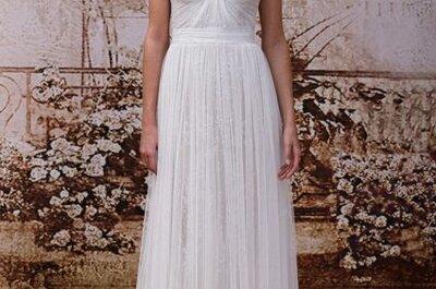 Vestidos de novia con encajes tendencias 2014