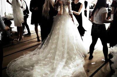 A belíssima coleção de vestidos de noiva Marchesa 2014