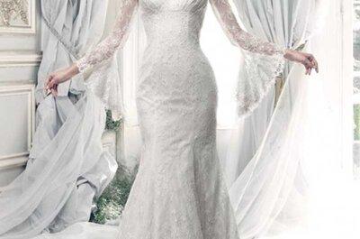 Découvrez les nouvelles robes de mariée Ian Stuart.