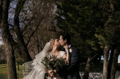 En ti está mi hogar eterno: La boda de Victoria y Rodrigo