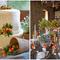 Pastel de boda con frutos y una decoración engalanada por el toque rústico - Foto Aaron Delesie