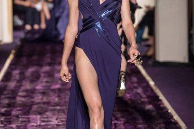 La colección alta costura otoño 2014 de Versace: Lo mejor para las invitadas de boda que no le temen a nada