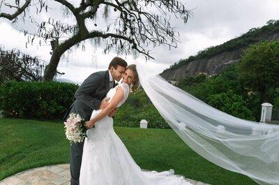 Gabriela & Rafael: casamento ao AR LIVRE no charmoso bairro de Santa Tereza!