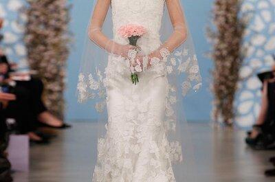 El vestido de la semana: una novia con el look de Oscar de la Renta