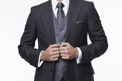 Costume de marié moderne chic et bien coupé : voilà l'adresse incontournable en sur-mesure ou prêt-à-porter