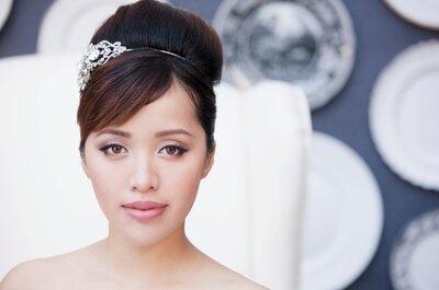 3 estilos de maquillaje DIY para novia