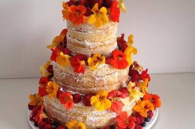 Naked Cake: a tendência mais deliciosa e bela para seu casamento