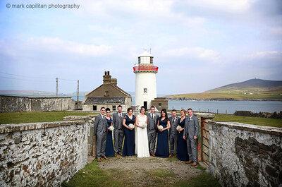 Real Wedding: Jennifer & David's Celtic fairytale