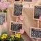 Marque-place pour vos tables de mariage - Sara Lobla