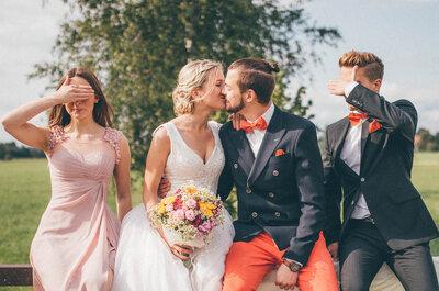 Wie wählt man seine Trauzeugen aus? Bester Freund und offizieller Beistand am Tag der Hochzeit