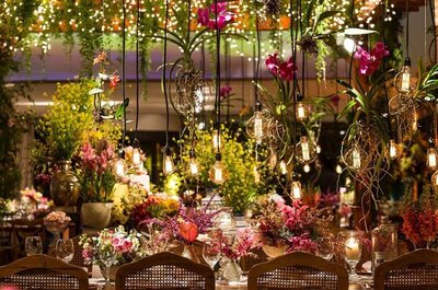 Tendências de decoração de mesas de convidados de casamento para 2017!