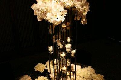 Decoración de boda con flores de Jeff Leatham