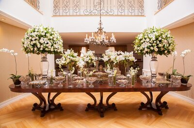 Como escolher as flores perfeitas para a decoração do seu casamento? Conselhos MEGA úteis!