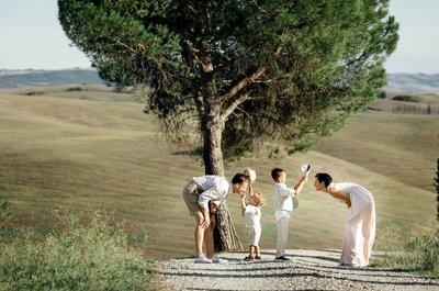 10 лет спустя: годовщина свадьбы в Тоскане