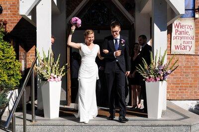 Reportaż ślubny pt. Uśmiech uzależnia! Zobacz ich szczęście!
