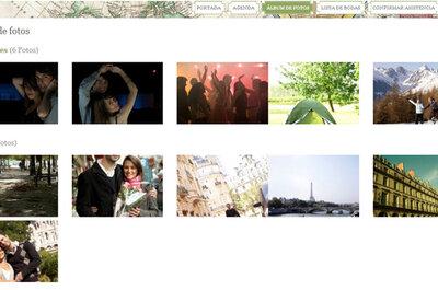 Lleva las fotos más especiales de tu boda a tu página web de bodas... ¡Comparte el momento!