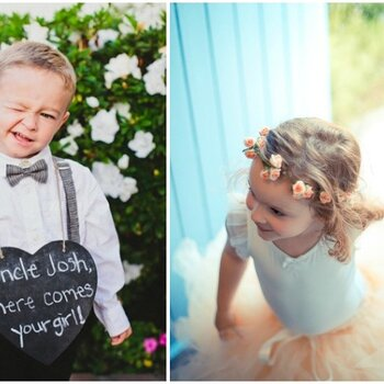 Super cute ideas for the little people at your wedding
