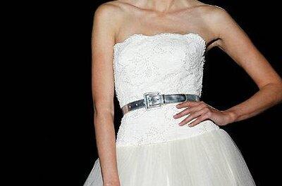 Um vestido de noiva desafiador, by Pepe Botella 2013