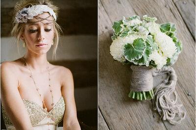 Inspiración en arreglos florales para boda